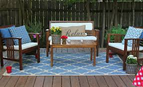 Trendy Inspiration Outside Patio Rugs Cheap Lowes Barn