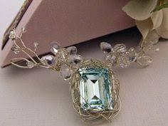 Bridal Necklace Wedding Flower And By RiRiJewelrybyNaoko 9900