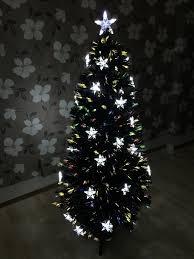White Christmas Tree 3ft 3 Ft Departments Fiber Optic