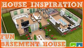 Sims Freeplay Second Floor by Sims Freeplay Fun Basement Neighbours House Tour Youtube