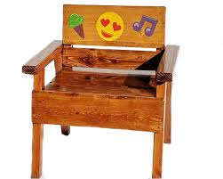 Amazon.com: Whimsical Painted And Engraved Emoji Chair, Outdoor Kids ... 65 Best Front Yard And Backyard Landscaping Ideas Designs Lets Do Whimsical Outdoor Ding Making It Lovely A Romantic Garden Wedding Every Last Detail Stevenson Manor Upholstered Side Chair With Turned Legs By Standard Fniture At Household Club Pair Vintage Rebar Custom Painted Vegetable Back Bistro Chairs 25 Patio To Buy Right Now Carate Batik Lagoon Rounded Corners Cushion Blue 6 Montage Antiques Display Of Counter Stool Jugglingelephants