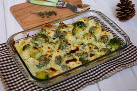 cuisiner du brocoli gratin de chou fleur et brocolis au comté et au thym au fil du thym