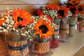 Cheap Wedding Decorations Online by 27 Rustic Fall Wedding Centerpieces Martha Stewart Weddings Good