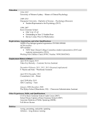 clinical psychology resume sles professional personal statement writers for hire thesis
