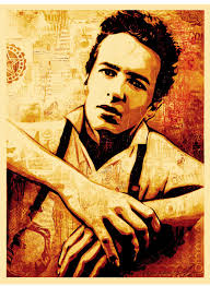 Joe Strummer Mural Nyc Address by Obey U0027joe Strummer U0027 Canvas Print Release Details