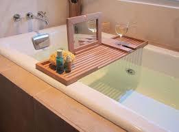 Bamboo Bath Caddy Nz by Articles With Wood Bath Caddy Canada Tag Compact Wood Bathtub