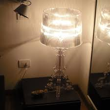 Kartell Bourgie Lamp Silver by Bourgie Design Lamp By Kartell Arredaclick
