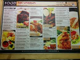 api cuisine api unggun bar and pizza bandung restaurant reviews phone