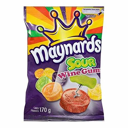 Maynards Wine Gums - Tangy, 170g