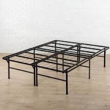 Zinus SmartBase Queen Metal Bed Frame HD SBBK 14Q FR The Home Depot