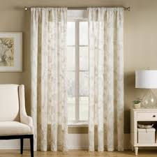 Bed Bath And Beyond Semi Sheer Curtains by Buy Natural Sheer Curtain Panel From Bed Bath U0026 Beyond