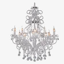 Crystal European Retro Chandelier A PNG Image And