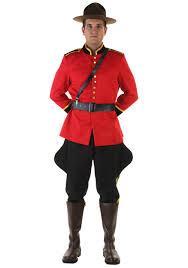 Prescription Halloween Contacts Canada by Men U0027s Canadian Mountie Costume Walmart Com