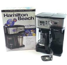 Flexbrew Coffee Maker Hamilton Beach Two Way Reviews Parts Single Serve