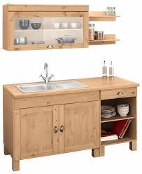 home affaire küchenzeile oslo ohne e geräte breite 150 cm mit 35 mm starker durchgehender arbeitsplatte mit metallgriff landhaus küche aus