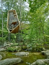 100 Tree House Studio Wood Modus Studio Sculpts Native Pine Ribs Into Evans Tree House