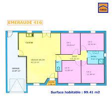 plan maison 150m2 4 chambres plan de maison individuelle plain pied