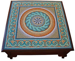 exceptional mosaic coffee table mosaic tile coffee table mosaic