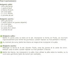 recette pâtes pour beignets salés et sucrés facile et rapide