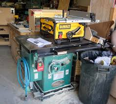 Grizzly 1023 Cabinet Saw by Deciding On A Table Saw Woodworking Talk Woodworkers Forum