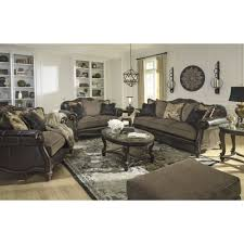 Claremore Antique Sofa And Loveseat by Ashley Furniture Winnsboro Loveseat In Vintage Local Furniture