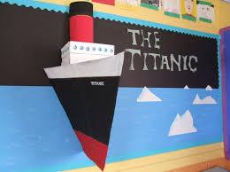Titanic Bulletin Board Ship Classroom SO Cool Teachers Should All Make This