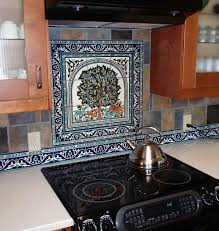 mexican tile murals southwest tuscan mosaic tile backsplash costco