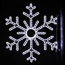 Shop Holiday Lighting Specialists 3 ft Point Snowflake Pole
