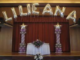 Quinceanera Decorations For Hall by Quinceanera Hall Decorations Picture Quinceaneras Balloons