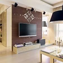 spiegel wand aufkleber raum dekoration schlafzimmer dekor abziehbilder dekorationen wohnzimmer küche aufkleber 3d anhänger kronleuchter r119