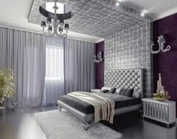 Luxury Bedroom With Purple Accent Image Via Freshideen Wall In Dining Space