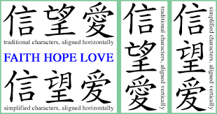 Chinese Symbols Tattoo Designs