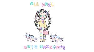 All Hail Cute Unicorns
