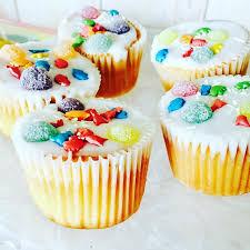 Jos Blue AGA Fairy Cakes