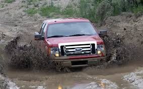 Red Mudder Ford F-150
