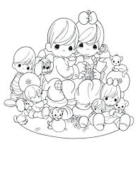Precious Moments Wedding Coloring Pages Free Printable For Kids Book Template Colouring