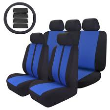 47 In. X 23 In. X 1 In 14PC Car Seat Covers Universal Custom Full ...