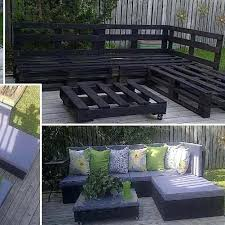 Plans For Yard Furniture by Patio Furniture From Pallets Plans Outdoor Table With Pallets