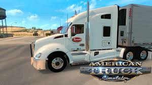 100 Tyson Trucking AMERICAN TRUCK SIMULATOR EP 95 TYSON FOOD INC YouTube