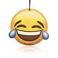Laughing Face Emoji Car Air Freshener