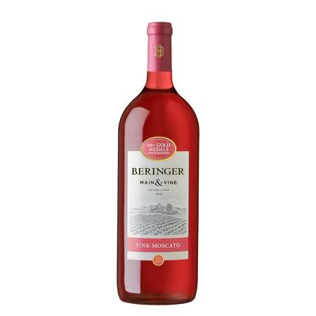 Beringer Collection Pink Moscato - California, 1.5L