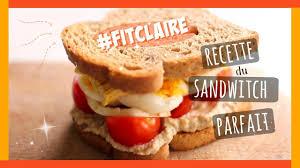 recette de cuisine equilibre recette le sandwich un repas sain et équilibré