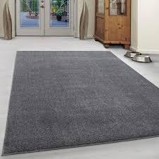 kurzflor teppich elise hellgrau morgenland teppiche