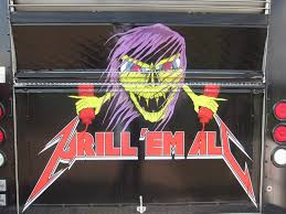 Grill Em All – Rockstar Themed Food Truck Makes Killer Burgers ... Steel Panther All You Can Eat Free Burgers From Grill Em Across Carrybeans 10 Most Creative Food Trucks Youll Love Grill Em All Alhambra California Happycow Bleu Cheer Burger From Truck Cranberry Sauce Flickr Rush Center Orlando Ford Dealership In Fl The Great Race Season 1 Winner Em Ca Xgrill Extreme Grilling Truck Fleet Owner Wars La Episode Airs This Week Featurning Behemoth Burger Los Angeles Top 11 Influential 2011 Eat Like A Champion Obey Your Master Dee Snider Burgerjunkiescom