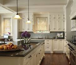 White Cabinets Dark Countertop Backsplash by Kitchen Fancy Kitchen Backsplash White Cabinets Dark Floors