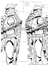 Star Wars Clone Coloring Pages Free