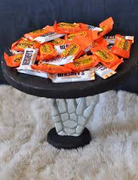 Halloween Candy Dish by Halloween Serving Plate Tutorial Make Life Lovely