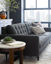 Crate And Barrel Verano Petite Sofa by I Like This Style For The Front Sitting Area I Would Do A Lighter