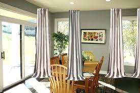 3 Window Curtain Ideas Medium Size Of Dining Room Bay How To Choose Curtains Treatment Windows Together