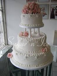 Indian Weddings Inspirations White Wedding Cake Repinned by indianweddingsmag indianweddingsmag classic cakes wedding things